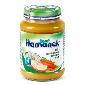 HAMÁNEK krůta s gratinovanou zeleninou a rýží 190 g