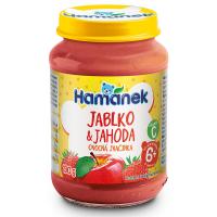 HAMÁNEK Jahoda s jablky 190 g