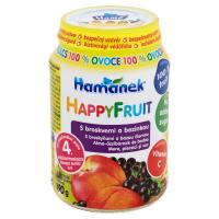 HAMÁNEK Happy Fruit S broskvemi a bezinkou 190 g