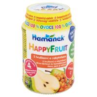 HAMÁNEK Happy Fruit S hruškami a rakytníkem 190 g