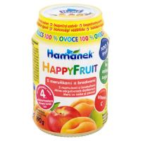 HAMÁNEK Happy Fruit S meruňkami a broskvemi 190 g