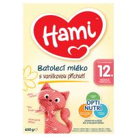 HAMI Vanilka batolecí mléko s vanilkovou příchutí od ukončeného 12. měsíce 600 g