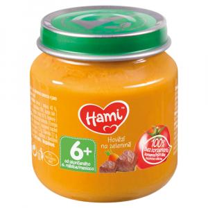 HAMI Hovězí na zelenině od 6.měsíce 125 g