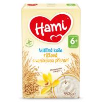 HAMI Mléčná kaše Rýžová s vanilkovou příchutí od 6.měsíce 225 g