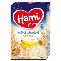 HAMI Mléčná kaše Na dobrou noc s Banány 225 g
