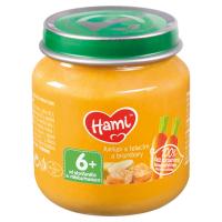 HAMI Mrkev s telecím a bramborem od 6.měsíce 125 g