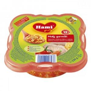 HAMI Malý Gurmán těstoviny s dušenou kýtou a rajčaty 230 g