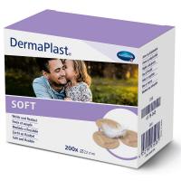 HARTMANN Dermaplast rychloobvaz soft spots kulaté 200 ks