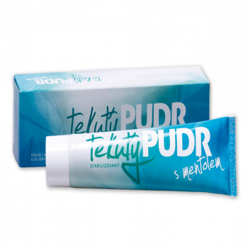 HERBACOS Tekutý pudr s mentolem 1% 100 g