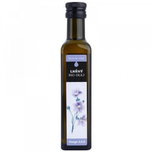 HEALTH LINK lněný olej 250 ml BIO