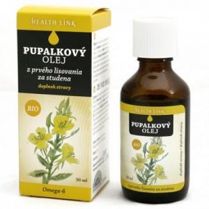 HEALTH LINK Pupalkový olej 50 ml BIO