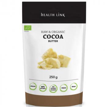 HEALTH LINK Kakaové máslo BIO 250 g