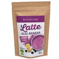 HEALTH LINK Latte Acai a banán BIO 150 g