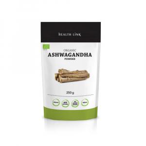 HEALTH LINK Prášek Ashwagandha 250 g BIO