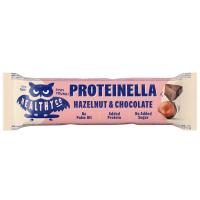 HEALTHYCO Proteinella chocolate bar s příchutí čokoláda a lískový ořech 35 g