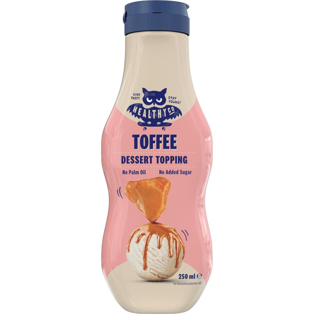 HEALTHYCO Dessert Topping s příchutí karamelu 250 ml