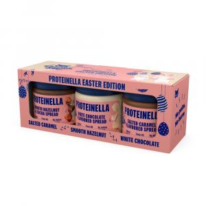 HEALTHYCO Velikonoční box proteinella 3x 200 g