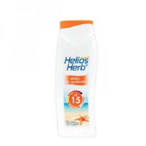 HELIOS Herb mléko na opalování OF 15 200 ml