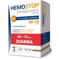 HEMOSTOP Probio Max 30 + 15 tobolek zdarma