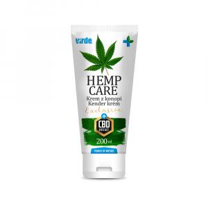 VIRDE Hemp care Exclusive + CBD extract 200 ml