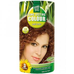 HENNA PLUS Přírodní barva na vlasy CAFE LATTE 7.54 100 ml