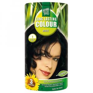 HENNA PLUS Přírodní barva na vlasy ČERNÁ 1 100 ml