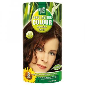 HENNA PLUS Přírodní barva na vlasy ČOKOLÁDOVĚ HNĚDÁ 5.35 100 ml