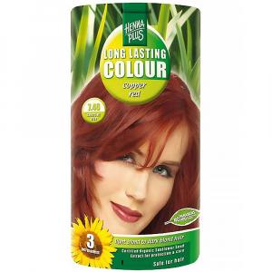 HENNA PLUS Přírodní barva na vlasy MĚDĚNĚ ČERVENÁ 7.46 100 ml