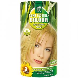 HENNA PLUS Přírodní barva na vlasy SVĚTLE ZLATÁ BLOND 8.3 100 ml