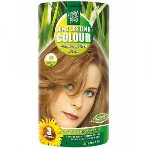 HENNA PLUS Přírodní barva na vlasy SYTĚ ZLATÁ BLOND 7.3 100 ml