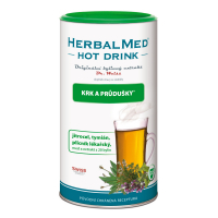 HERBALMED Dr.Weiss Hot drink krk průdušky + vitamin C 180 g