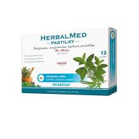 DR. WEISS HerbalMed pastilky Eukalypt + máta + vitamín C 12 pastilek