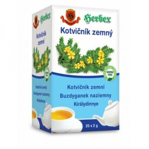 HERBEX Kotvičník zemní čaj 20 sáčků