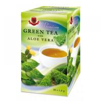 HERBEX PREMIUM Zelený čaj s aloe vera 20x1,5 g