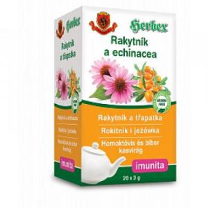 HERBEX Rakytníkový čaj s Echinaceou 20 x 3 g