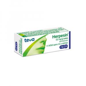 HERPESIN Krém 5 % 2 g