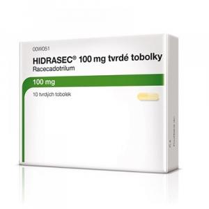 HIDRASEC 100 mg 10 tobolek