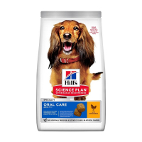 HILL'S Can.Dry SP Oral Care Adult Medium Chicken 2 kg
