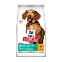 HILL'S Can.Dry SP Perf.Weight Adult Small Chicken1,5kg