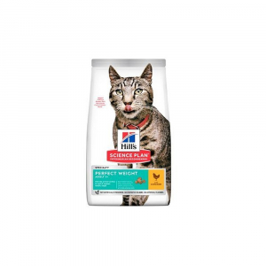 HILL'S Fel. Dry SP Adult Perfect Weight Chicken 1,5kg