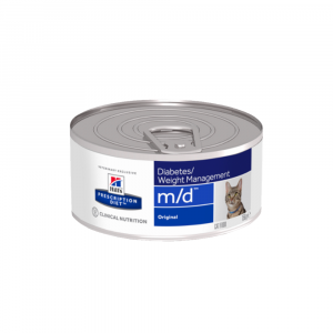 HILL'S Prescription Diet™ m/d™ Feline Original konzerva 156 g