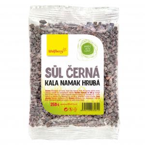 WOLFBERRY Himalájská sůl černá hrubá Kala Namak 250 g
