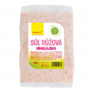 WOLFBERRY Himalájská sůl růžová jemná 700 g