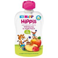 HiPP 100% ovoce Jablko-Broskev-Lesní ovoce od 4.měsíce BIO 100 g