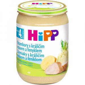 HiPP Brambory s králičím masem a fenyklem 190 g