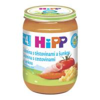 HiPP BIO Zelenina s těstovinami a šunkou 190 g
