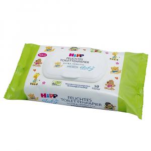 HIPP BABYSANFT Vlhčený toaletní papír 50 ks