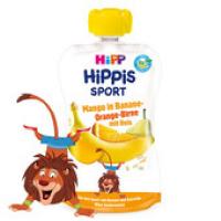 HiPP BIO Sport Hruška-Pomeranč-Mango-Banán-Rýže 120 g