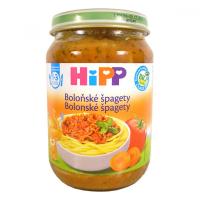 HiPP BIO Špagety v boloňské omáčce 250 g