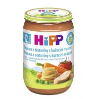 HiPP BIO Zelenina s těstovinami a kuřetem 220 g